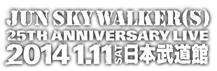 25TH ANNIVERSARY of JUN SKY WALKER(S) - e+(イープラス)